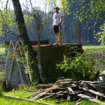 Abbruch Gartenhaus